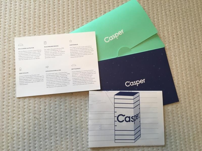 Casper Matratze Vergleich